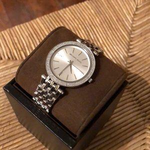 MICHAEL KORS Darci Stainless Steel Bracelet Watch